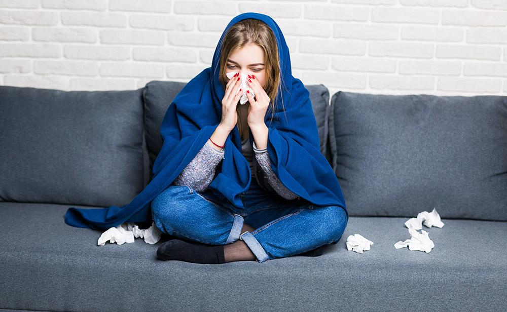 رژیم سرماخوردگی